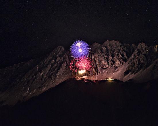 Austria Innsbruck NewYear Tirol  Illuminated Midnight Nature Night No People Outdoors Sky Tyrol
