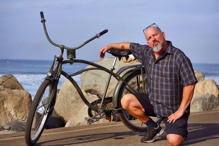 Custom Bikes Custom Bicycles Friends Manhattan Beach Today :)