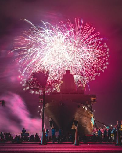 American Beauty Boat Ship Pearl Harbor Slow Shutter Long Exposure Fireworks Nightphotography Independence Day Check This Out Taking Photos Enjoying Life Sonya7II America 4th Of July Fourth Of July USA Showcase July
