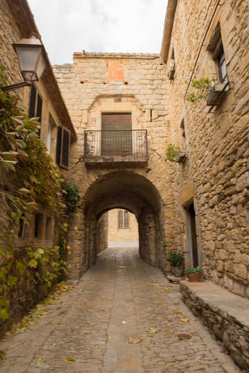 Catalonia Country Rural SPAIN Architecture Building Exterior Built Structure Day Girón Medieval No People Old Outdoors Peratallada