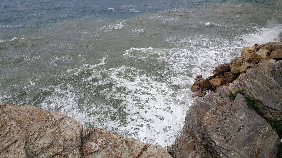 Showcase: January First Photo 2016 Sea Waves, Ocean, Nature Blue Sea White Waves EyeEm Italy