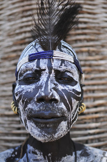 Ethiopia Ethiopian Photography 🇪🇹 Omo Valley Travel Photography Africa Chief Facepainting Key Afer Mursi Omo River