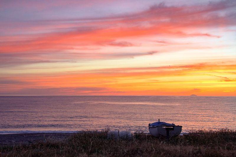 Quiet at sunset