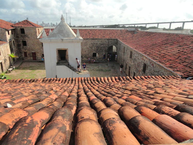 17th Century Architecture Bridge Colonization Fortress Historical Building Natal - RN Outdoor Museum War A Bird's Eye View