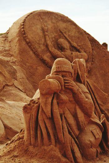 Sand Sculpture Park Sand Sculpture Art