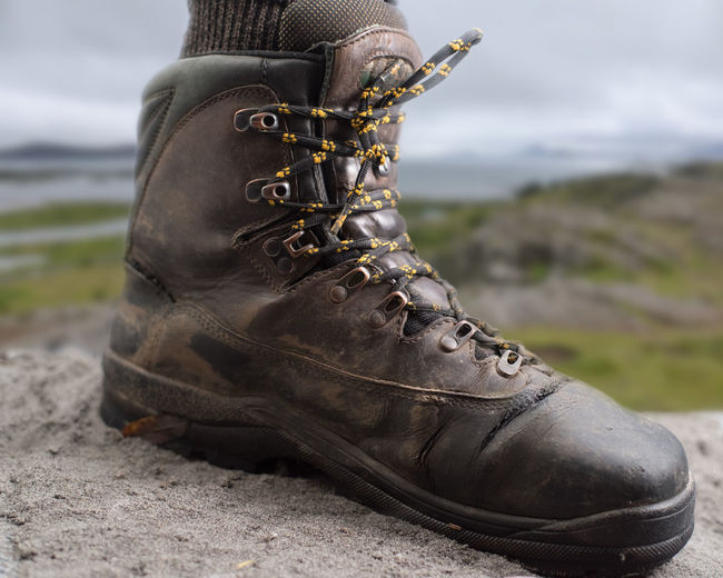 Photoshop Hiking Without Any Blisters Hiking Iceland Montage Photography Shoe Blurred Background Close-up Day Focus On Foreground Hiking Shoe Indoors  Lifestyles Low Section Nature No People Outdoors Photoshop Shoe Standing Studio Shot