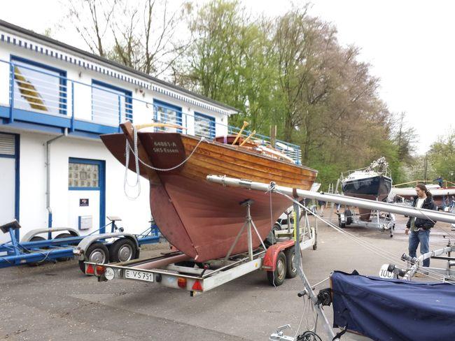 jetzt geht's ins Wasser!!! Boats Sailing Hobby The Purist (no Edit, No Filter) Folkeboot