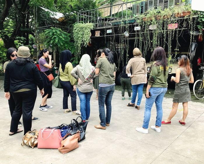 """Batch 11, """"ARMY LOOK"""" by IMLC Mommies, at Kopi Boutique/Yesterday Backyard Coffee shop, Cipete, South Jakarta. ImpressiveMindsMoms Friends By ITag Arisan 11 By ITag Arisan IMCH By ITag"""