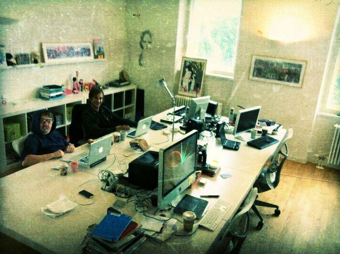 Working at Sontagstraße 15 Working