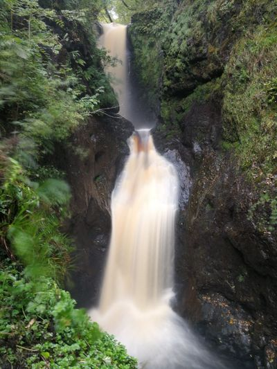 Waterfall Water Motion Long Exposure Blurred Motion River Rapid Nature Outdoors No People Freshness Scenics Spraying Day Power In Nature Beauty In Nature Glenariff Forest Park DiscoverNI Northern Ireland Nature Photography