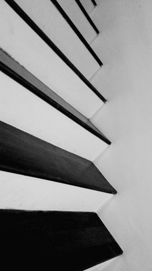 Stairways Black And White Open Edit