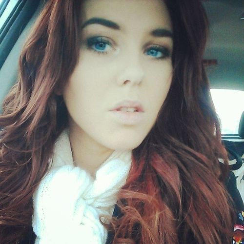 Blue eyed babe. Keep warm today you guys! Its freeeezing! Igottacaseofthemondays Ginger Ihatewinter