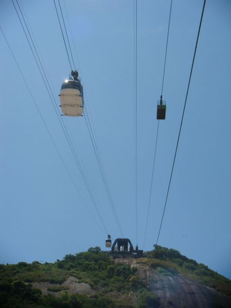 Beauty In Nature Blue Cable Connection Day Electricity  Journey Landscape Low Angle View Mode Of Transport Mountain Nature No People Non-urban Scene Outdoors Overhead Cable Car Power Cable Power Line  Power Supply Sky Tranquil Scene Tranquility
