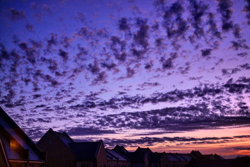 Cambridge Sunset Clouds Nophotoshopneeded