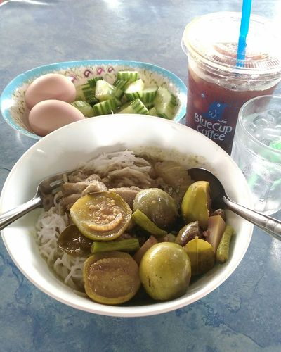ขนมจีน แกงไตปลา Lunch Time! ThaiFoodMarket
