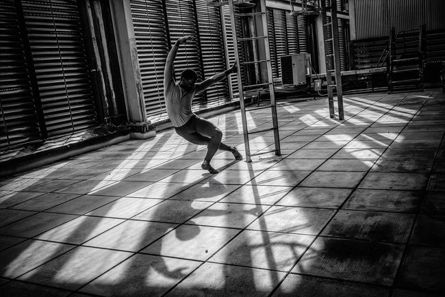 B&w Street Photography Dancer in the dark Dancer Light BW Collection Shadow New York City Ballet Light And Shadow Urban