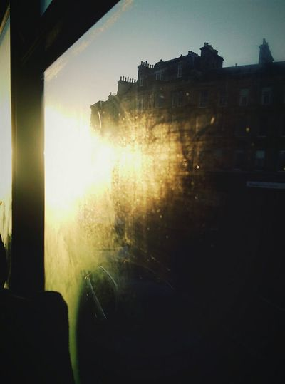Morning sunshine Sunshine Morning Travelling Bus Going To School Streetphotography Street Photography Window Scotland