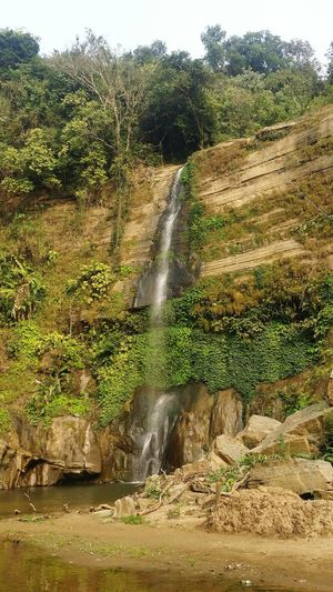Waterfall Sylhet Bangladesh Travelling Greenery Water Nature Outdoors Day No People Beauty In Nature