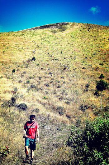Mt. Guntur, Garut of Indonesia