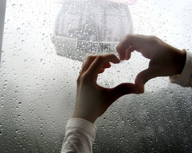 Two People Human Body Part Human Hand Window Adults Only Togetherness Adult People Holding Women Day Indoors  Bonding Close-up Only Women Teamwork Young Adult Heart Hands Heart Fragility Foggy Day Rainy Day Rain Drops Beauty In Nature Glass Reflection EyeEmNewHere