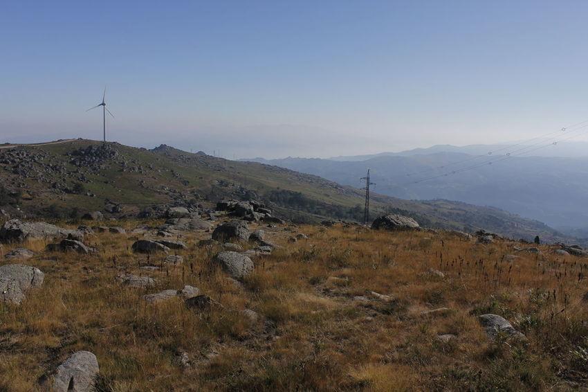 Enercon Energy Landscape Portugal Stone Stones Wind Windpark