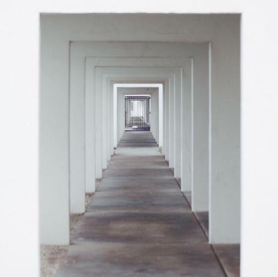 Indoors  The Way Forward Corridor No People Day Flagler Beach, Florida White EyeEm Selects
