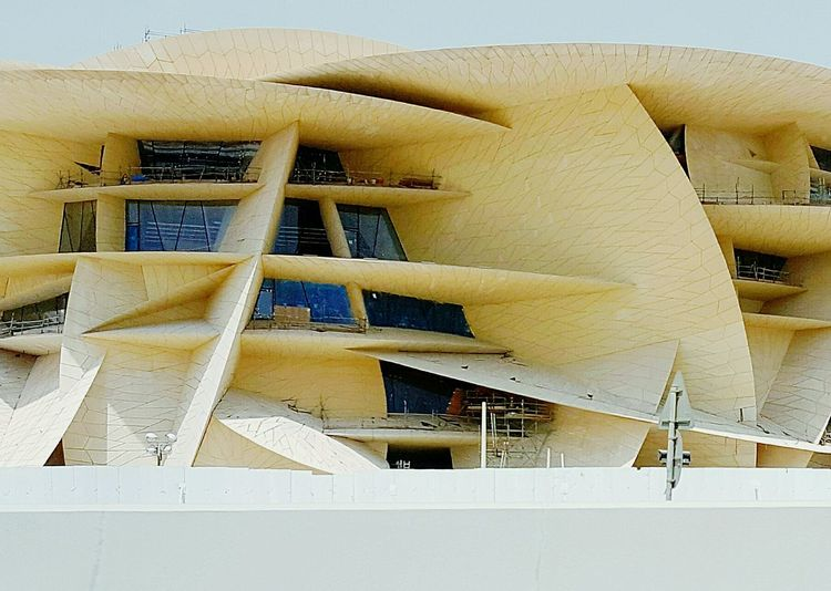 Modern Architecture City Life Highway Outdoors City Museum Doha EyeEmNewHere Architecture No People Day Spiral Staircase