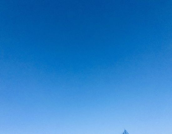 Shades of blue Blue Background Blue Blue Sky Blue Clear Sky Copy Space Low Angle View Backgrounds No People Day Sky