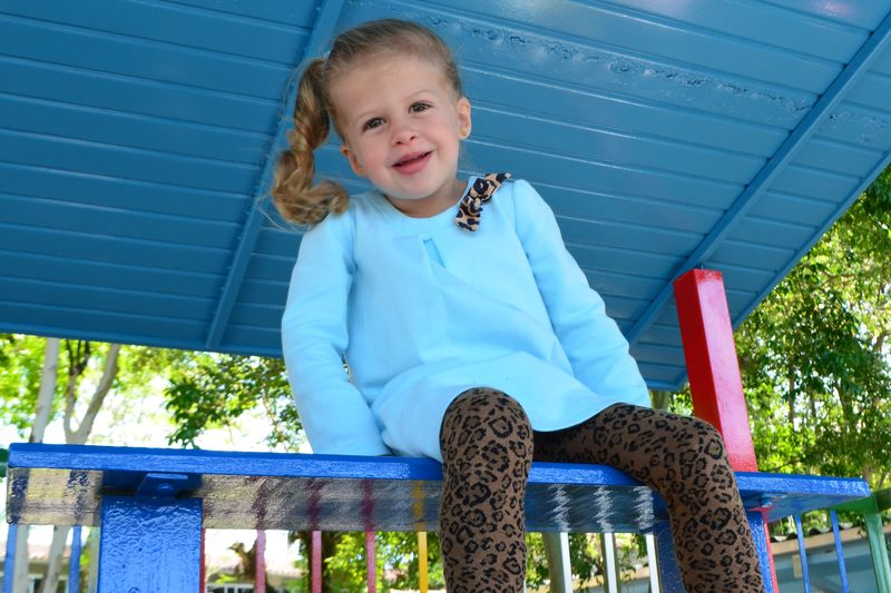 Children Blond Hair Blue Girl Happiness One Person Playground Real People Smile