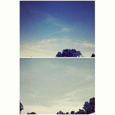 Good weather. Enrollment part 2. Good morning! Puddingcamera Skies Veranda