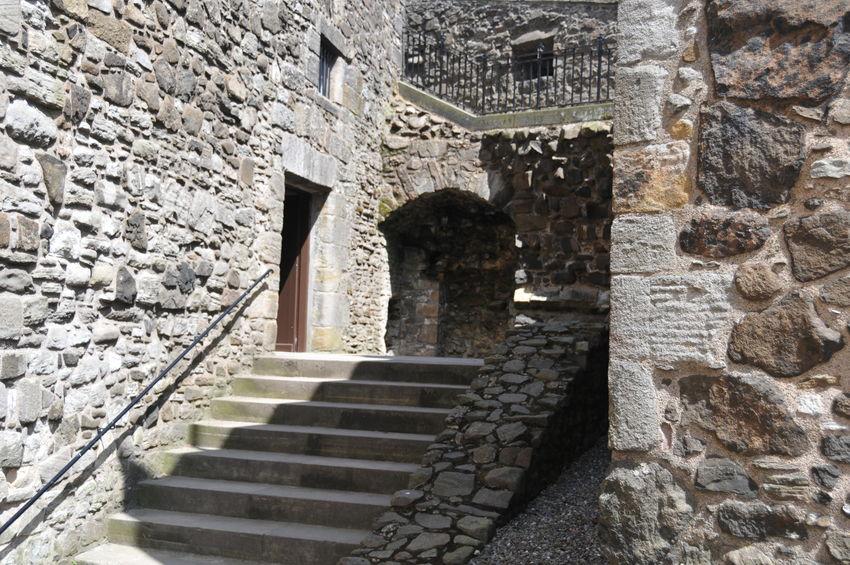 Castle Castle Garden Castle View  Castle Walls Historical Historical Building No People Scotland Stirling Castle