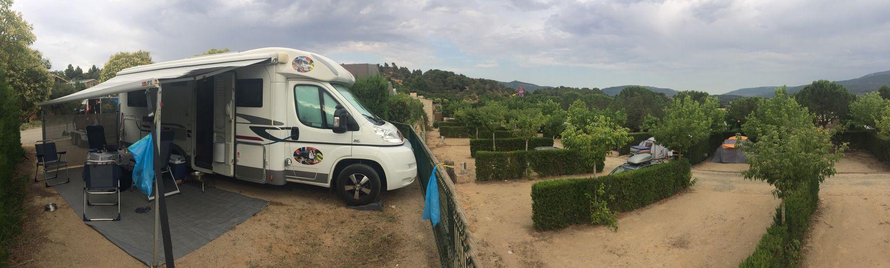 Camping Motorhome Autocaravana Bobil in Montblanc