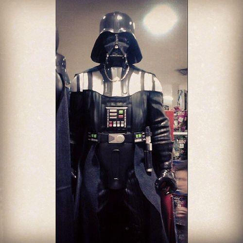 ~marcha imperial~ Darthvader Starwars ShoppingCenterNorte
