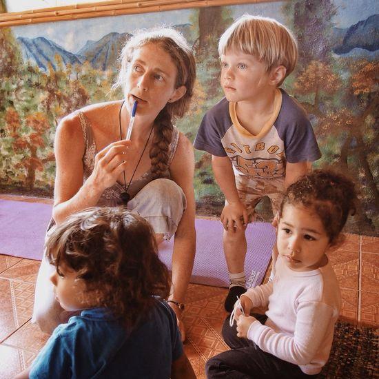 Mom Kids Portrait VSCO Vscocam