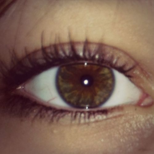 People Dont Belive Me When I Say My Eyes Are Hazel..