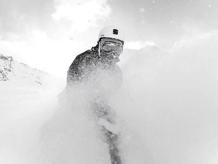 Snowboarding Gopro Powderdays