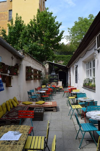 Alley Balkan Balkanburger Egylet Pécs Restaurant Tables Tables And Chairs