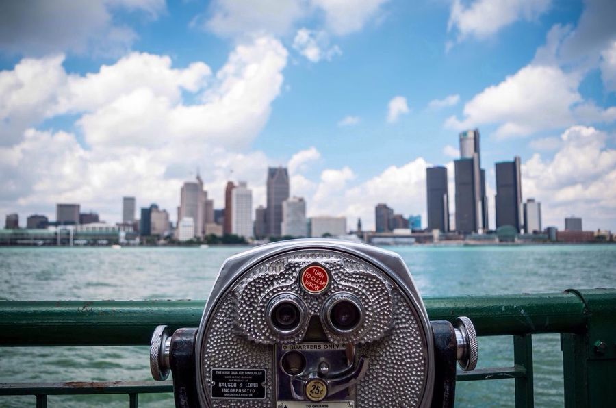 Detroit Water Sky Eye4photography