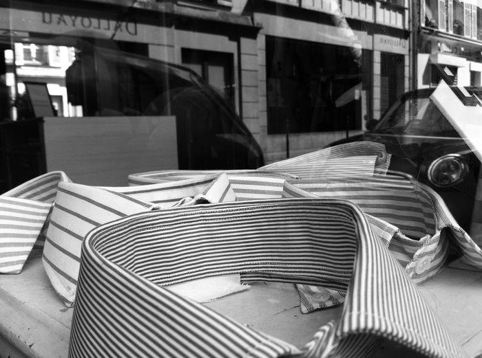 France Blackandwhite Old-fashioned Sartorial Shirt Indoors  Paris EyeEmNewHere Shadow Tailor Showcase Window Detail