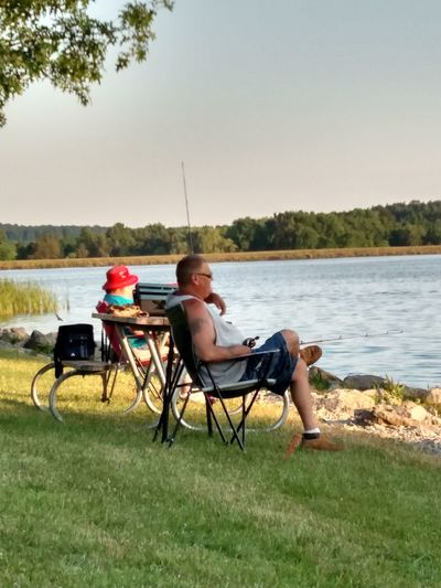 People Watching People Photography People And Nature People On Lake Shore People Enjoying Life People Fishing People Celebrating Fathers Day 2016 Enjoy Life Quality Time Relaxing Time Celebrate Dads My Own Photography Guilford Lake Lisbon Ohio A Perfect Day On The Lakeshore Signs Of Summer