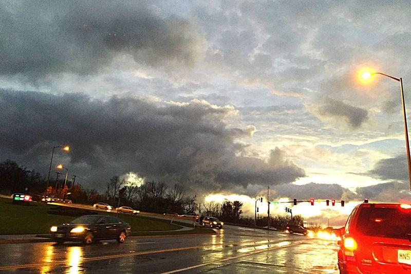 Kansas City Rain Drive Home Myepicsky Thisismysky  Streamzoo Streamzoofamily Stormy Weather Clouds