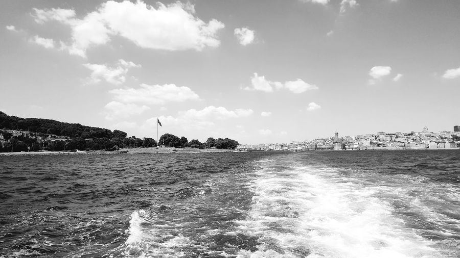 Water Sea Istanbul Turkey Istanbuldayasam Istanbulbogazi Boğaz Denizhavası First Eyeem Photo