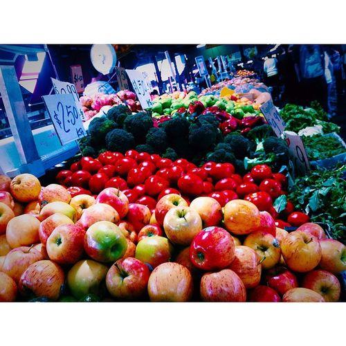 Victoria market Fruit Victoriafoodmarket Melbourne Veggies Beautiful Colors Nomnomnom Sooocheap