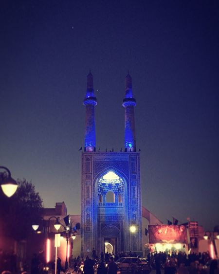 Architecture Ashura Mosque Grand Mosque Night Occasional Investing In Quality Of Life