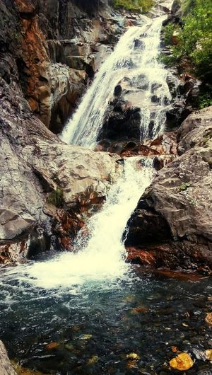 Water Hot Spring Motion Waterfall River High Angle View