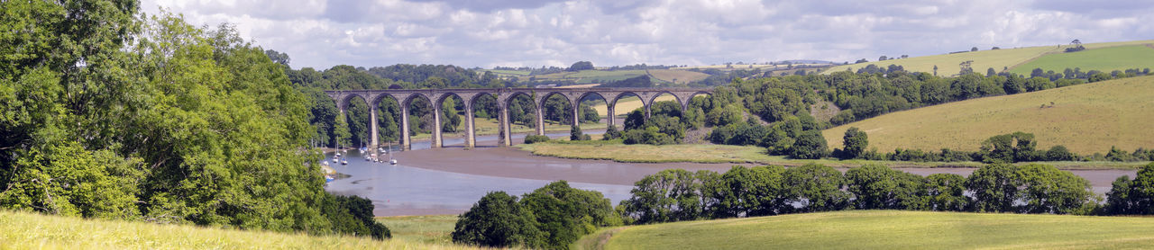 Arches English Countryside St Germans HillsMeander Panorama Panoramic Landscape Panoramic Photography Train Bridge Landscapes With WhiteWall Lost In The Landscape