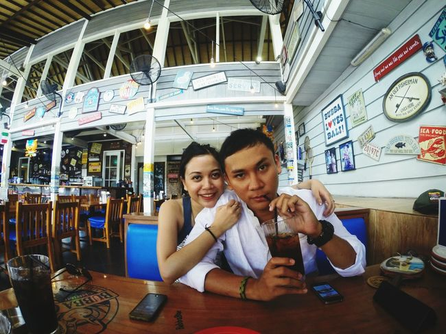 Holiday with my baby Bubba Gump Shrimp Co. Bali, Indonesia Lover Holiday Memories
