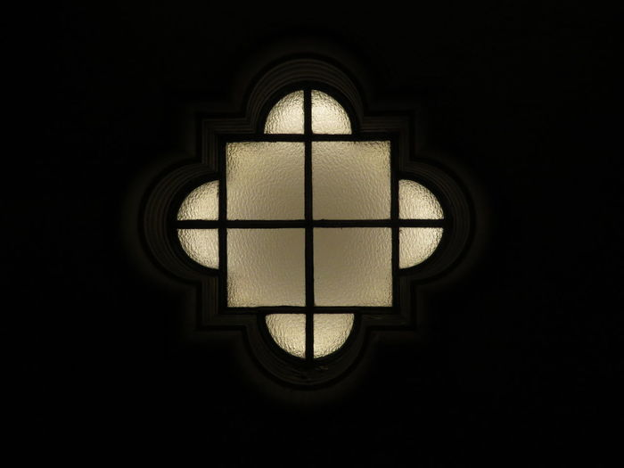 Geometry Shape Sharp Window Stained Glass Darkroom Architecture And Art Hanging Light Light Arched Architectural Design