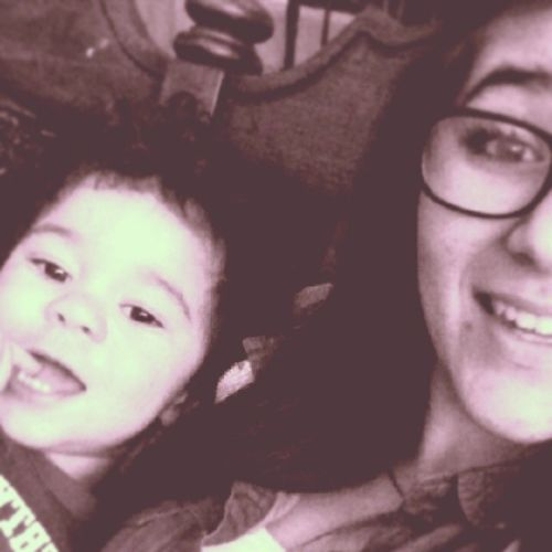 My adorable cousin and I!(: He's a lady killer.(; Tycen SelfiesWithHim