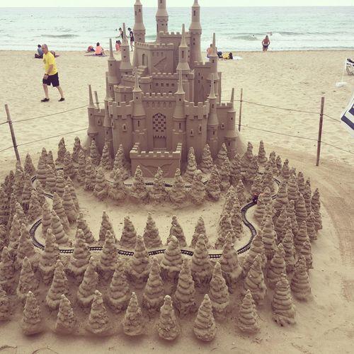 Built Structure Creativity Architecture Cervenec EyeEm July Sea Sand Castle Hot Leto 2k16 Vacation Mallorcaphotographer Baleares